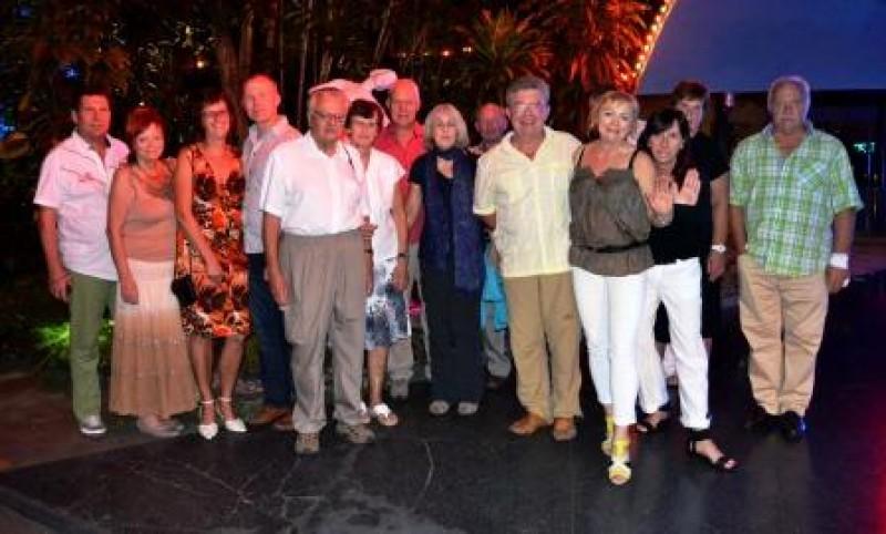 Tropicana Show, Kuba, Reisegruppe, Reisen, Urlaub, Fernreise