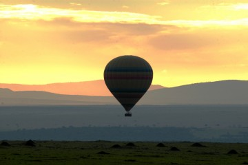 Video Ballonsafari in der Masai Mara