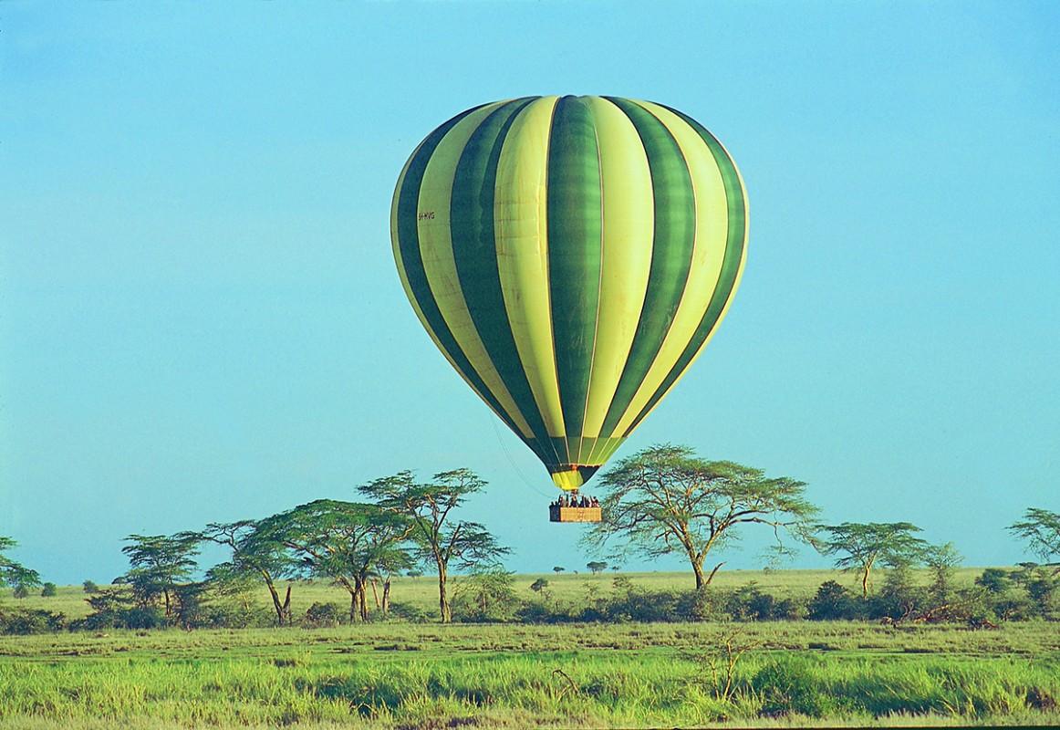 Ballonfahrt über der Masai Mara in Kenia