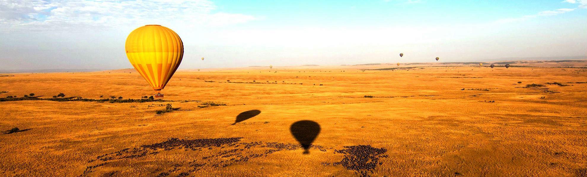 Kenia Große Tierwanderung Ballonsafari