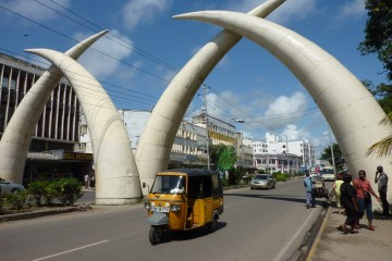 Video Mombasa City Tour