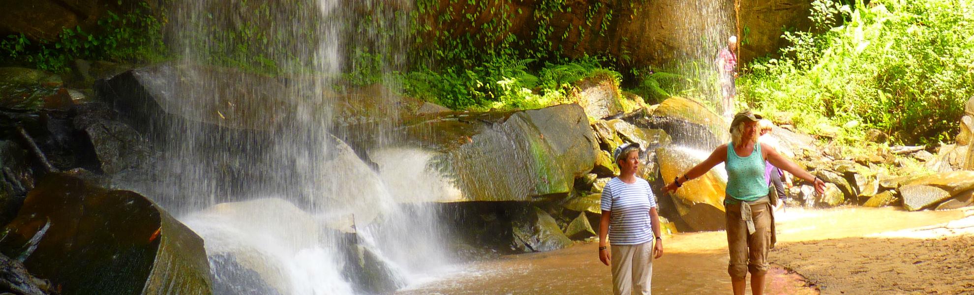 Sheldrick Falls in den Shimba Hills