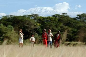 Fuß-Pirsch am Kilimanjaro