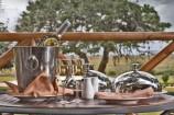 Frückstücks-Tisch in der Ashnil Aruba Lodge