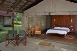 Zeltausstattung in der Ashnil Aruba Lodge