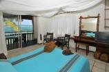 liebevoll eingerichtetes Zimmer mit Meerblick im Partnerhotel Bahari Beach