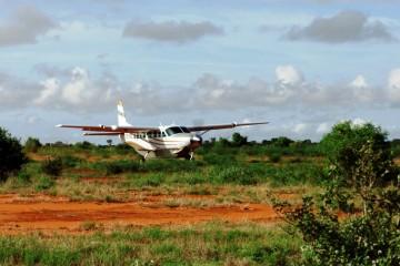 Flug Safari Deluxe im Tsavo in Kenia