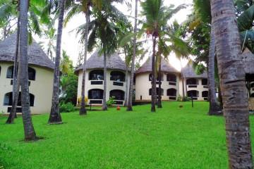 Blick auf die Bungalow-Zimmer der Severin Sea Lodge