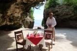 Honeymoon-Tisch im Emrald Flamingo Beach Resort