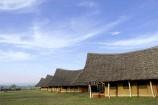 Zelte im Flamingo Hill Camp