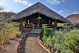 Zelt Unterkunft im Kibo Safari Camp