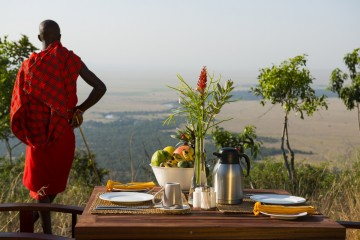 Blick vom Kilima Camp
