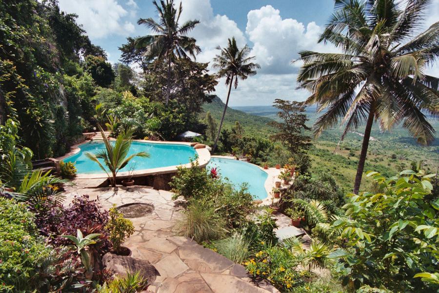 Kutazama Lodge in den Shimba Hills