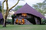 Bungalow Zimmer in der Lake Naivasha Sopa Lodge