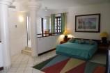 Ausstattung eines Zimmers in der Leisure Lodge
