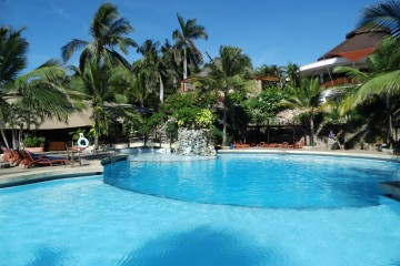 Pool des Leopard Beach Resorts
