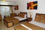 komfortable Zimmer im Leopard Beach Resort