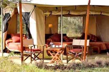 Ndololo Safari Camp im Tsavo Ost Nationalpark