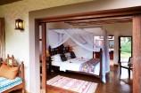 Blick vom Balkon in Zimmer des Neptune Palm Beach Resort