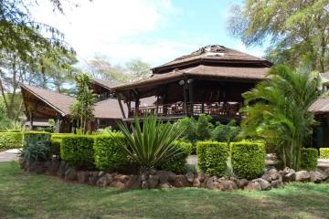 Haupthaus der Ol Tukai Lodge