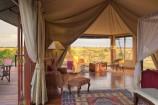 hochwertige Zelte im Olare Mara Kempinski Camp