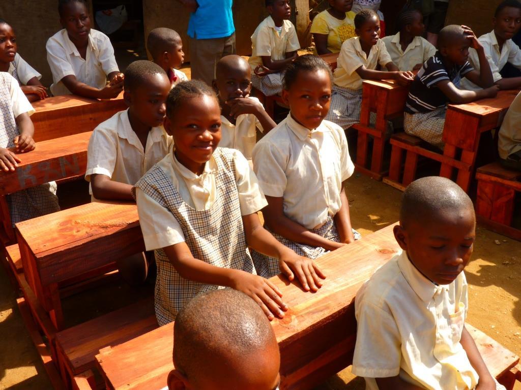 Unterricht an der Barsam Junior School
