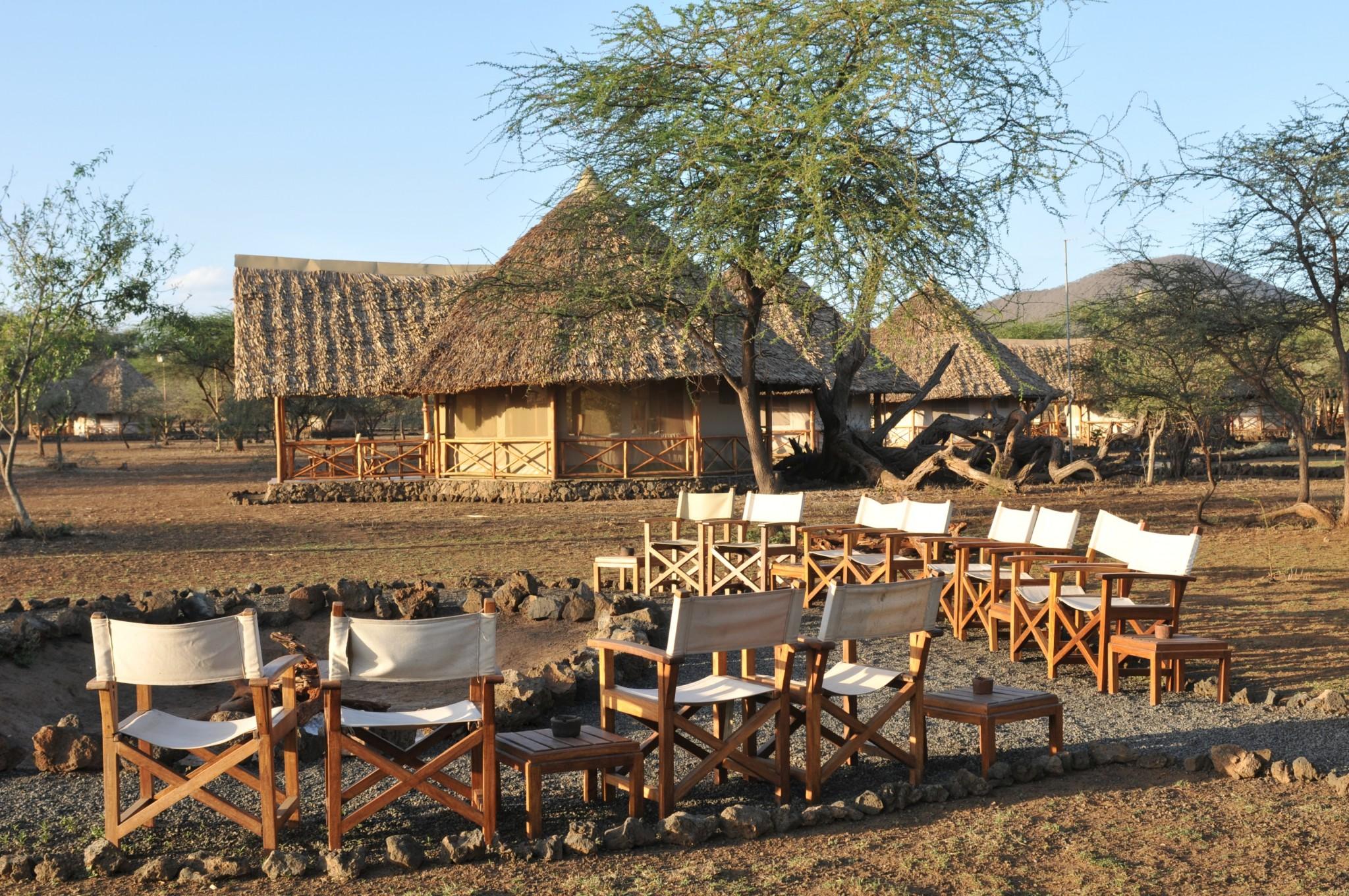 Lagerfeuer im Severin Safari Camp