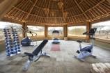 Fitnesszelt im Severin Safari Camp