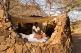 Massage im Spa-Bereich des Severin Safari Camps