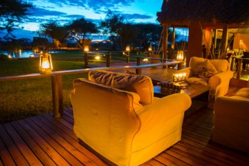 Tawi Lodge nahe des Amboseli Nationalparks