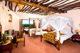 Zimmer mit Obstkorb im Hotel The Sands at Chale Island
