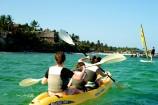 Kanu fahren am Voyager Beach Resort
