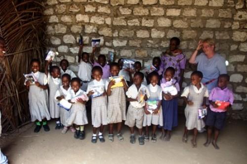 Die Kinder der Barsam Junior School in Kenia im Mai 2008