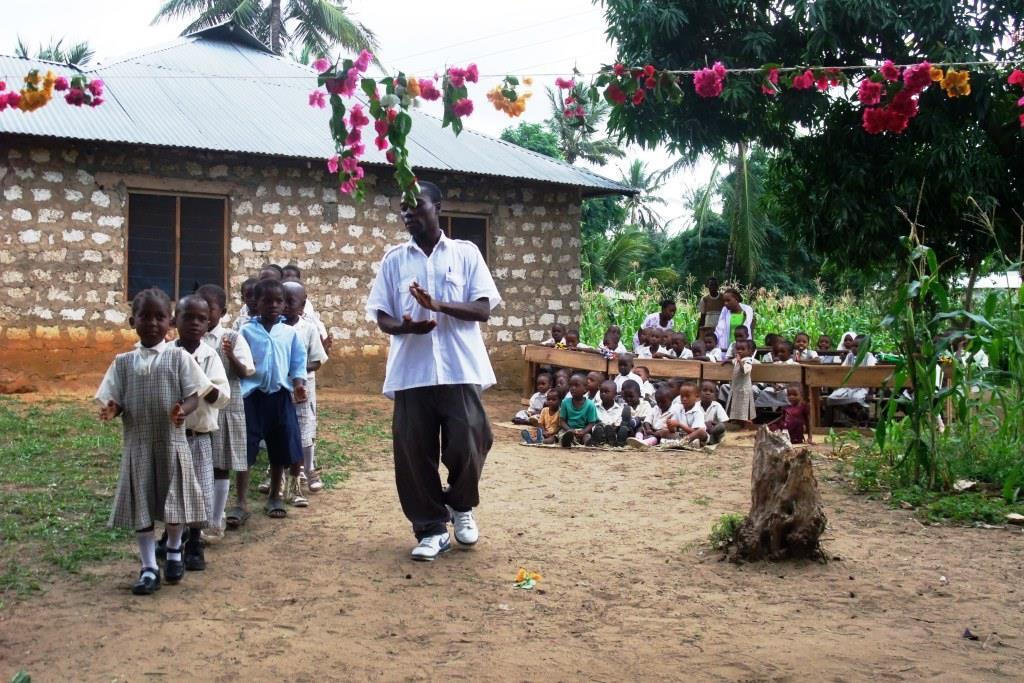 Besuch der Barsam Junior School in Kenia im Juli 2009
