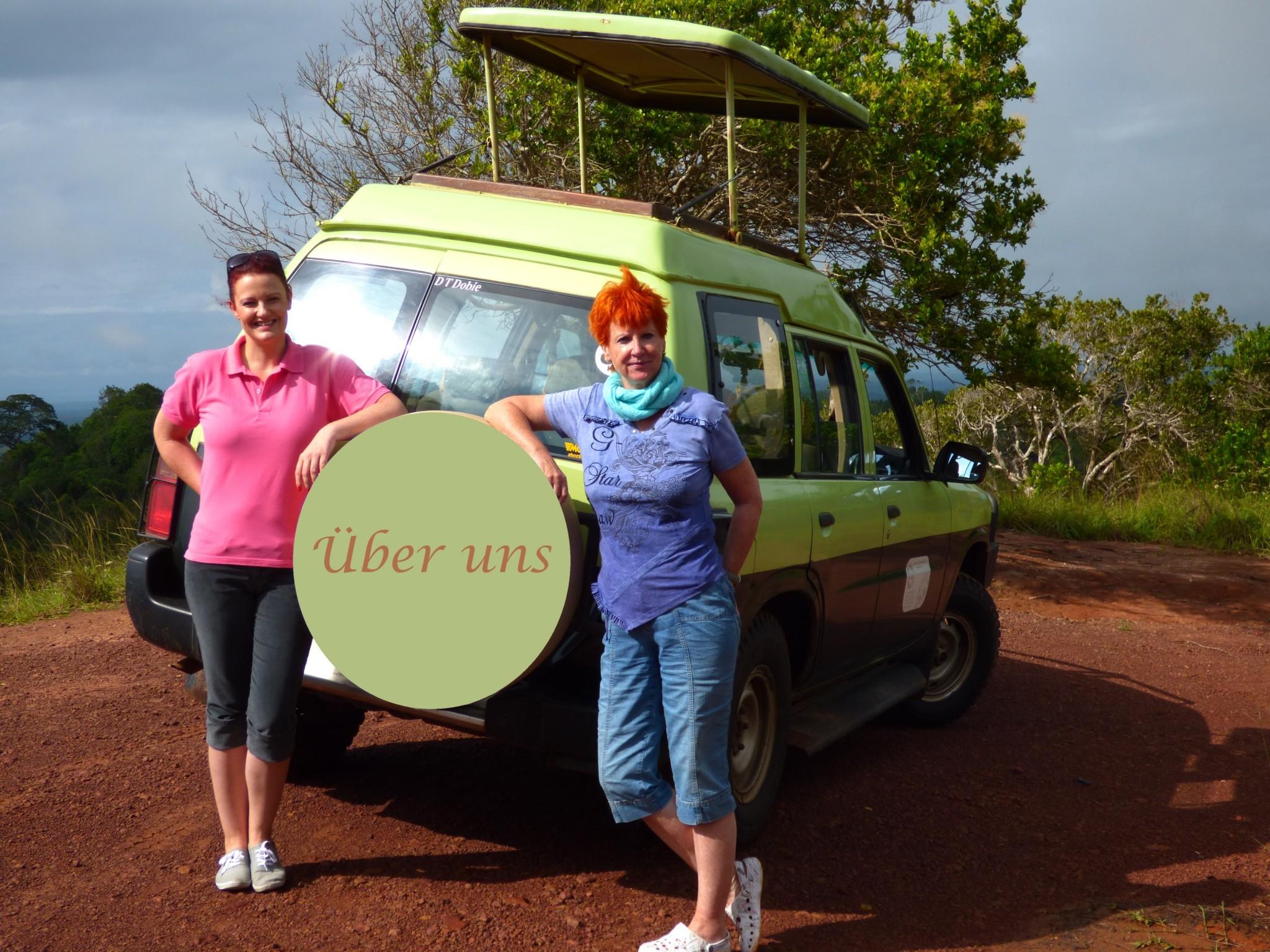 Marina und Judith Schmidt vom Reisekontor Schmidt in den Shimba Hills