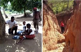 Ausflug Afrikanisches Dorf