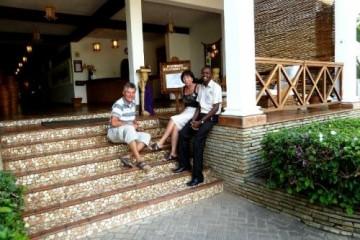 Ersteigerte Keniareise