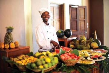 Früchtevielfalt in Kenia