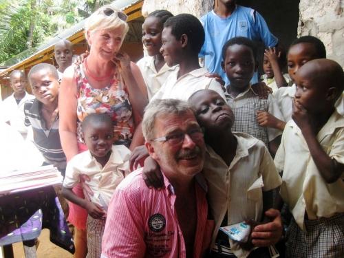 Patenfamilie Schmidt in Kenia