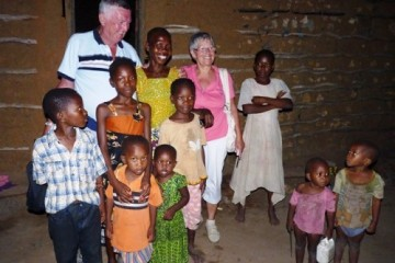 Patenfamilie Zschalig in Kenia
