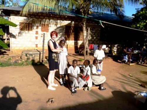 Besuch der Patenschule in Kenia im Dezember 2012