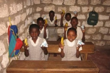 Besuch der Barsam Junior School im Januar 2010