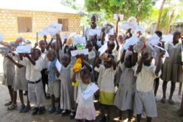 Besuch der Barsam Junior School im März 2010