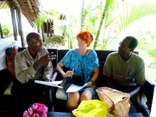 Besuch der Patenschule in Kenia im November 2013