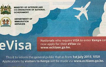 eVisum für Kenia