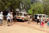November Reisegruppe auf Safari