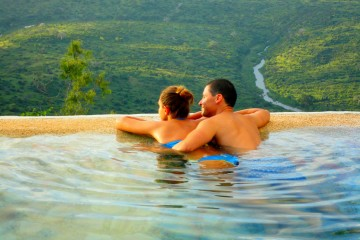 Shimba Hills Green Safari Lodge Ausblick