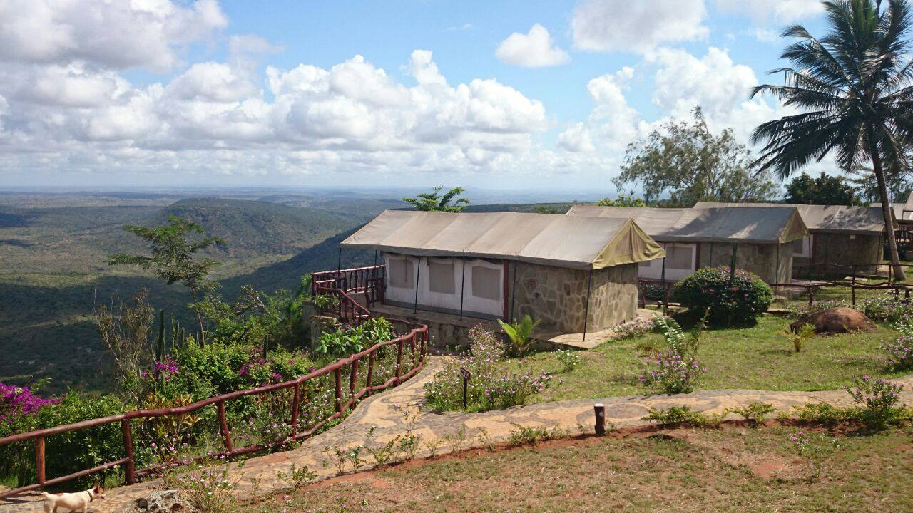 Shimba Hills Green Safari Lodge Gelände 3