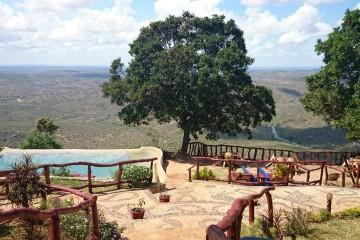 Shimba Hills Green Safari Lodge Pool