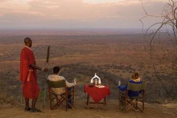 Ausflug Tsavo West Poacher's Lookout